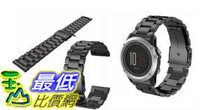 [106玉山最低比價網] Garmin Fenix3錶帶錶帶 fenix3 HR不鏽鋼錶帶