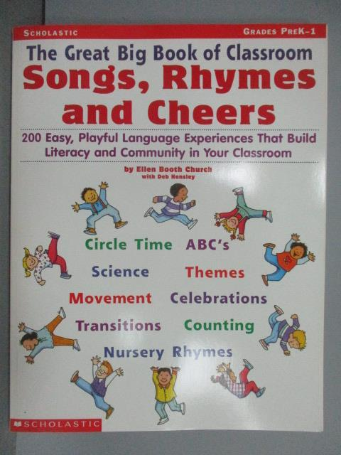 【書寶 書T1/語言學習_PBK】The Great Big Book of Classroom Song Rhymes and Cheers