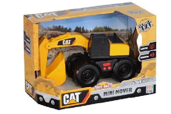 美國大牌CAT5吋聲光工程車挖土機【鯊玩具ToyShark】