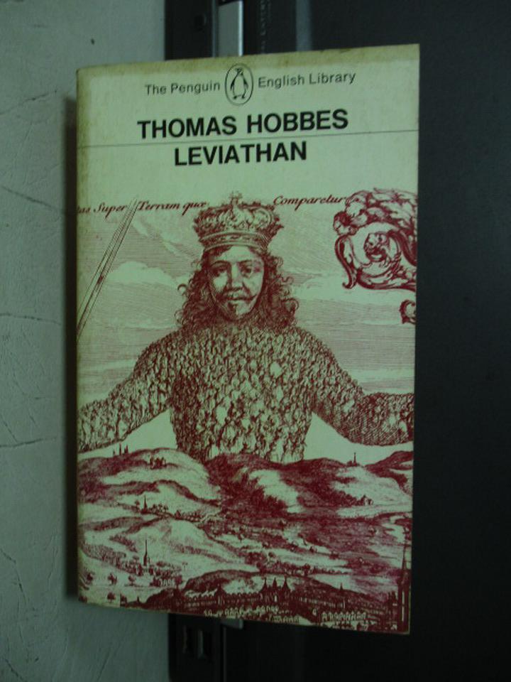 ~書寶 書T6/原文小說_NET~Thomas Hobbes Leviathan ~  好