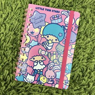 【真愛日本】17091200035 束帶筆記本小-TS 三麗鷗家族 Kikilala 雙子星 記事本 筆記本