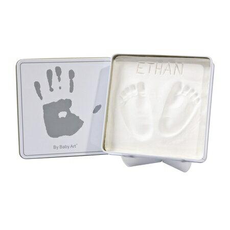 *babygo*比利時Baby Art 方形魔術紀念盒(白色)
