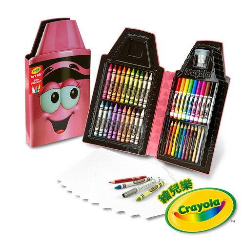《美國Crayola繪兒樂》蠟筆娃娃禮盒組-開心粉