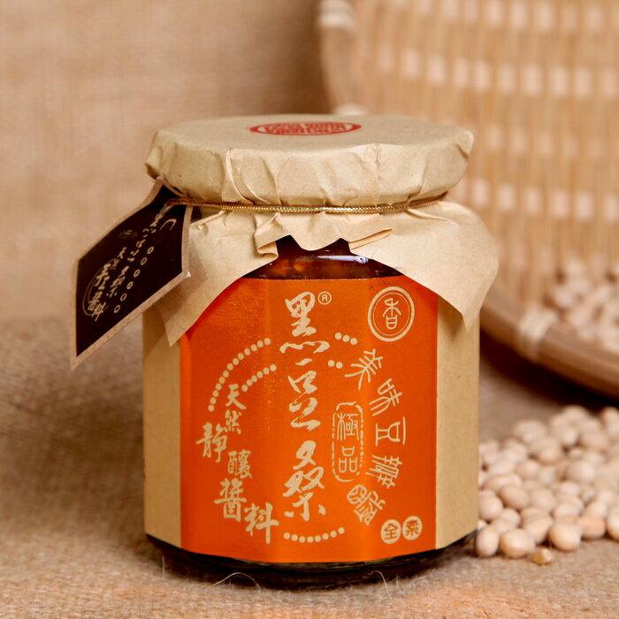 《小瓢蟲生機坊》黑豆桑 - 天然靜置釀造醬油醬料系列-醇釀極品香豆瓣醬 300g/罐 醬料 調味品