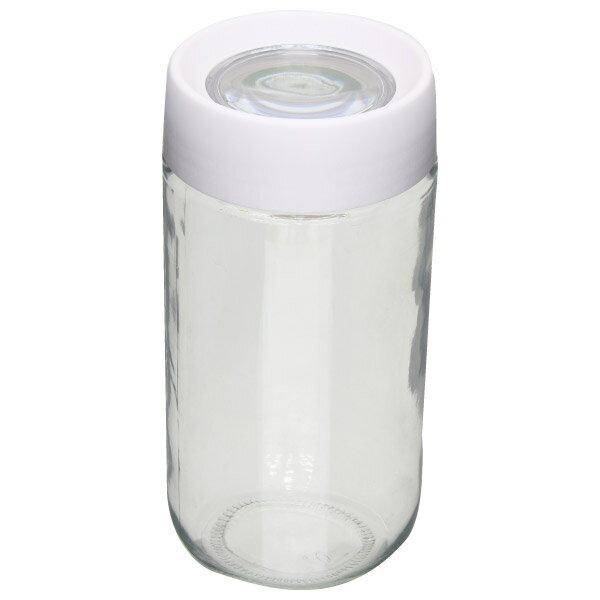 玻璃儲物罐 800ml 白98831002 NITORI宜得利家居