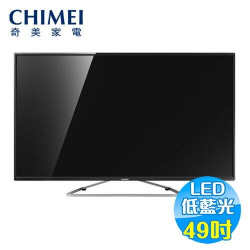 奇美 CHIMEI 49吋 FHD液晶顯示器+視訊盒  TL-49A100