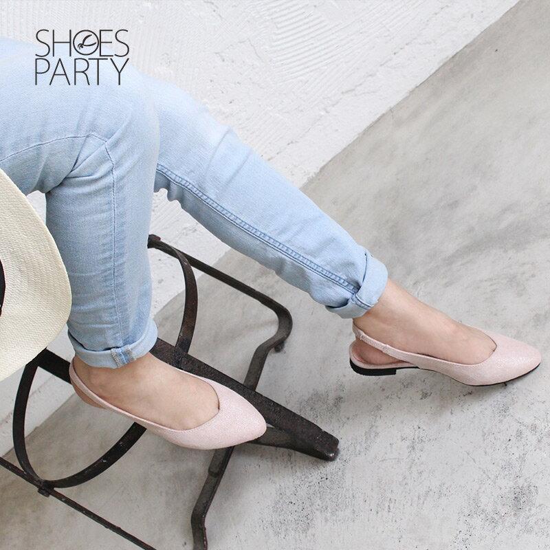 【P2-18328F】春天少女心,優雅尖頭平底鞋_Shoes Party 3