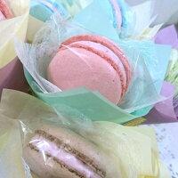 分享幸福的婚禮小物推薦喜糖_餅乾_伴手禮_糕點推薦棉花糖馬卡龍花束【葷】︱3支入