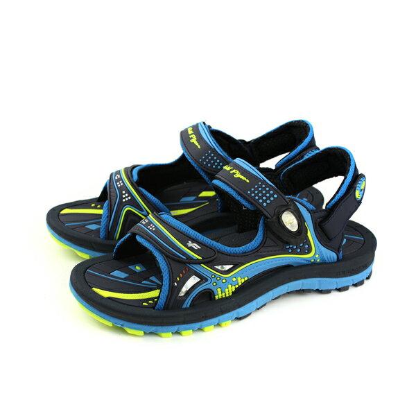GP(Gold.Pigon)涼鞋防水雨天藍色大童童鞋G8682B-20no942