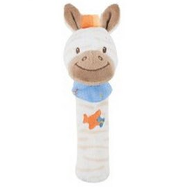 Nattou - 絨毛造型柱型bibi玩偶/亞瑟 0
