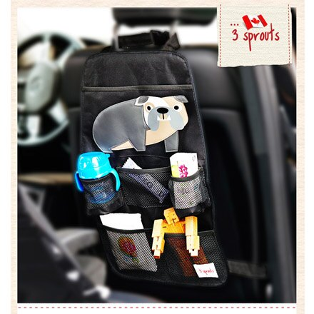 *babygo*加拿大 3 Sprouts 車用收納袋(共4款)