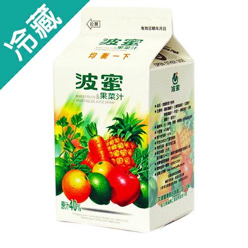 波蜜果菜汁400ml【愛買冷藏】