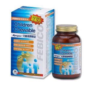 遠東生技【藻精蛋白兒童健康嚼錠】80公克/瓶,奶素,非會員也能下單購買