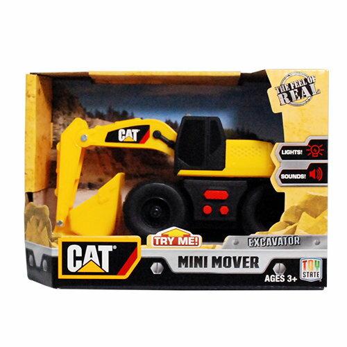 【CAT】5吋聲光工程車-挖土機 CA34659