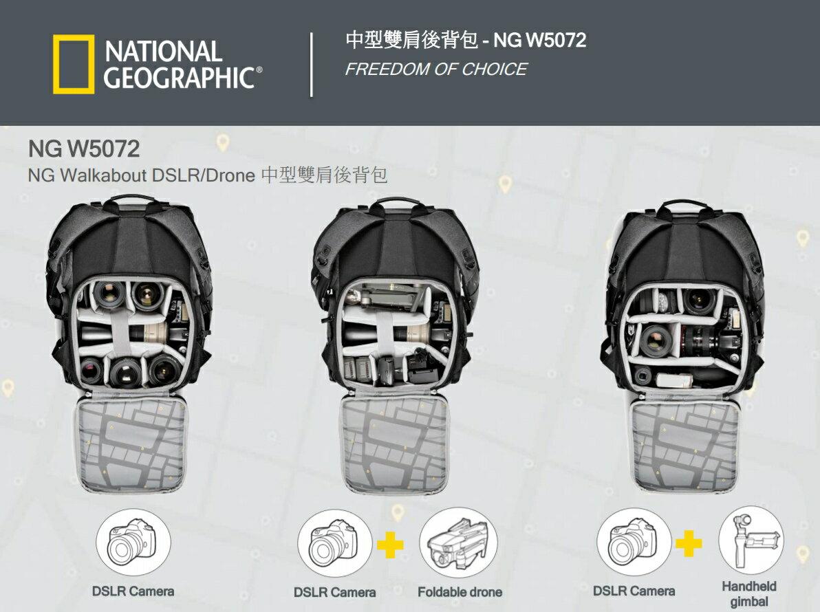 國家地理 National Geographic Walkabout NG W5072 都會潮流系列 中型雙肩後背包 正成公司貨 後背包 相機包 一機多鏡 3