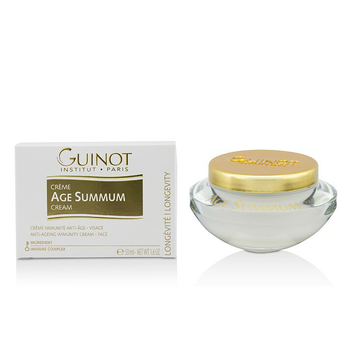 Guinot 維健美 抗衰老面霜Creme Age Summum Anti-Ageing Immunity Cream For Face  50ml/1.6oz