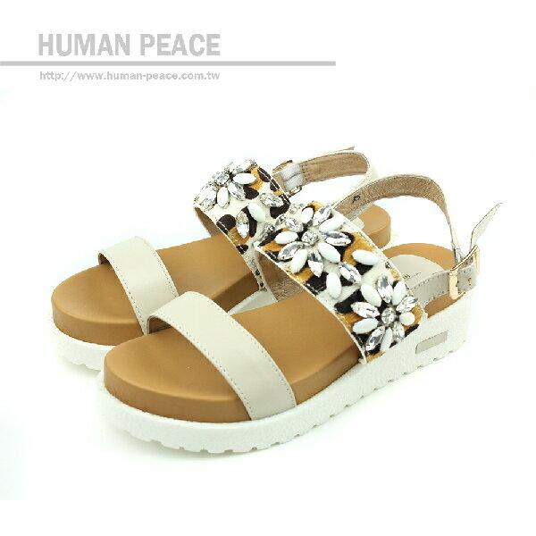 HUMAN PEACE 涼鞋 白色 女鞋 no335