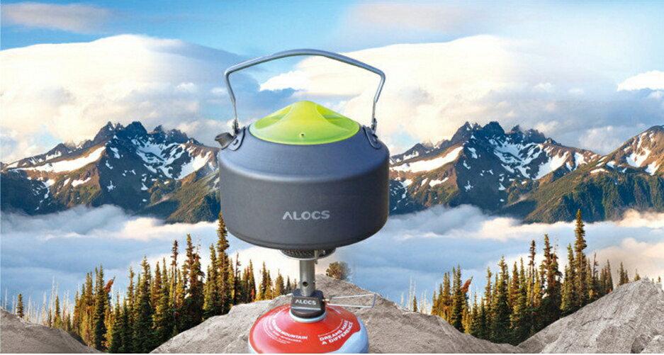 ~野營家~公司貨 ALOCS 愛路客 戶外 登山 露營 水壺 野外煮水壺 0.9L 茶壺 CW-K09 新上市