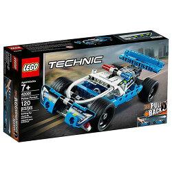 樂高積木 LEGO《 LT42091》2019年Technic 科技系列 - 員警追逐車