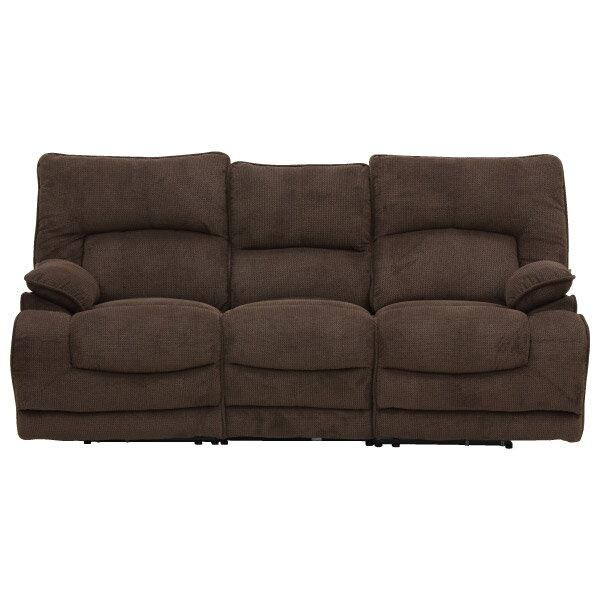 ◎布質3人用電動可躺式沙發 HIT 804 DBR NITORI宜得利家居 2