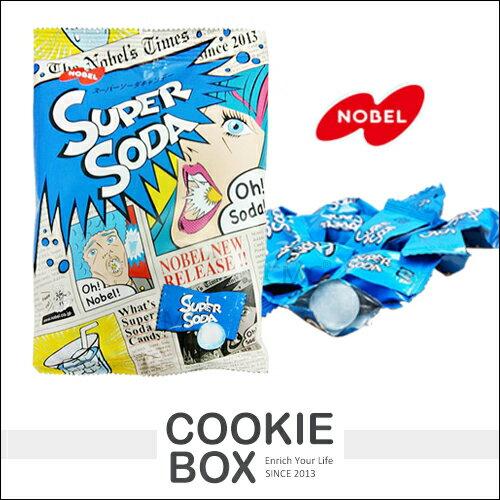 日本 NOBEL 諾貝爾 超級 蘇打糖 88g 糖果 風味糖 蘇打 硬糖 清爽 酸甜 零食 團購 超夯 *餅乾盒子*