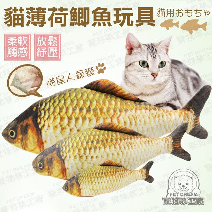 仿真魚 貓玩具 貓薄荷鯽魚玩具 寵物玩具 鯽魚 貓草 貓咪 紓壓 貓吃魚 寵物用品 貓用品 好窩生活節