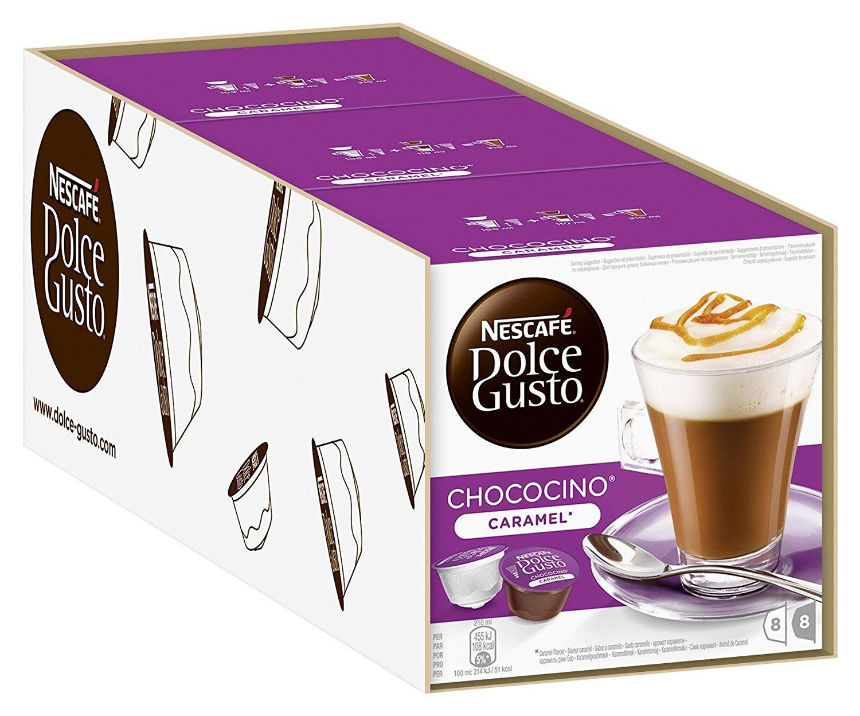 雀巢 NESCAFE Dolce Gusto 焦糖巧克力歐蕾 膠囊( Choco Caramel )(單條入,共48顆)