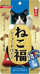 日清 福來小餅 海鮮風味 貓餅乾 貓福餅 零食 貓餡餅 42g/包 日本國產