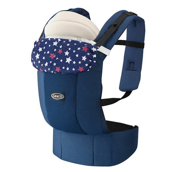 小奶娃婦幼用品:Graco-RoopopZero新生兒腰帶型4用途外出揹巾滿天星