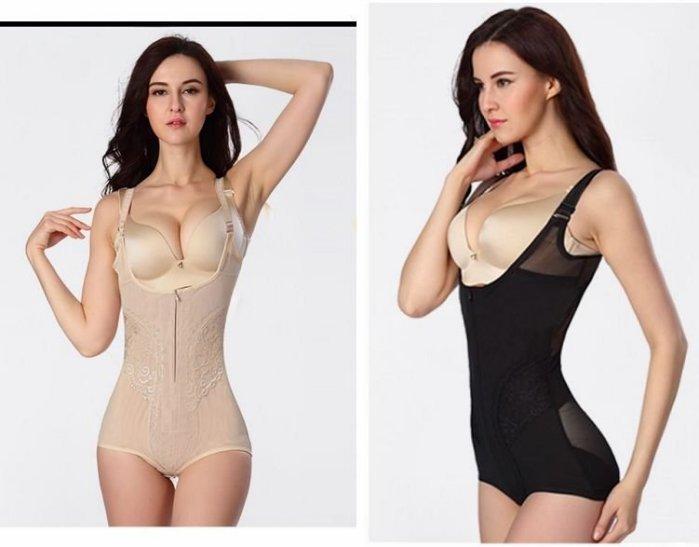 來福塑身衣,F34塑身衣產後收腹束腰提臀拉鍊設計好穿脫美體塑身連體調整衣,售價450元
