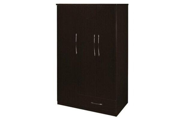【石川家居】826-04胡桃色衣櫥(CT-107)#訂製預購款式#環保塑鋼P無毒防霉易清潔