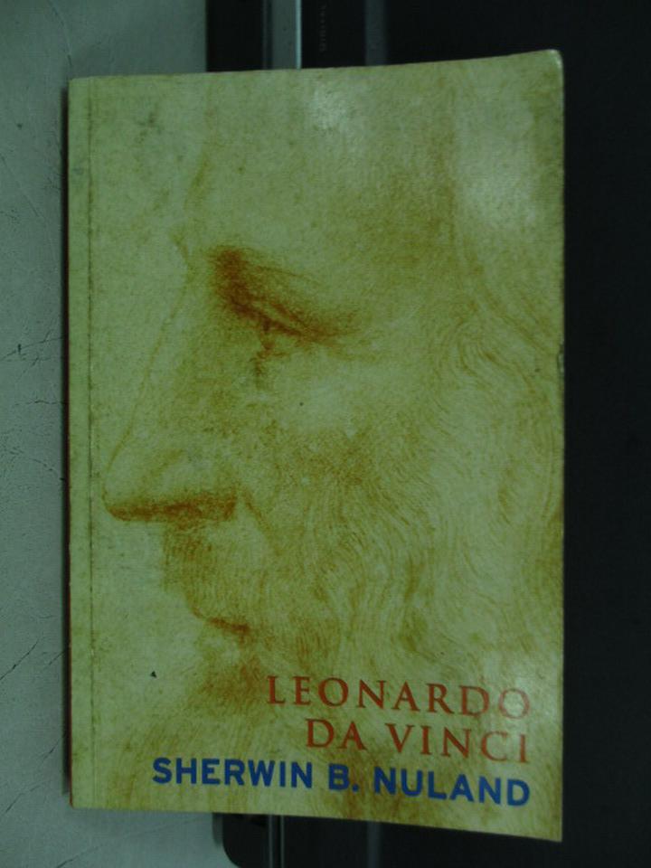 【書寶二手書T4/傳記_KPZ】Leonardo Da Vinci_Sherwin B. Nuland