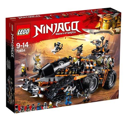 樂高LEGO 70654 NINJAGO 旋風忍者系列 - 獵龍戰車 - 限時優惠好康折扣