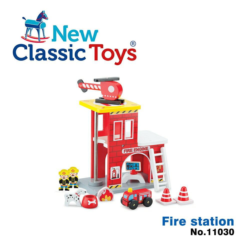 【荷蘭New Classic Toys】救火英雄小隊木製玩具