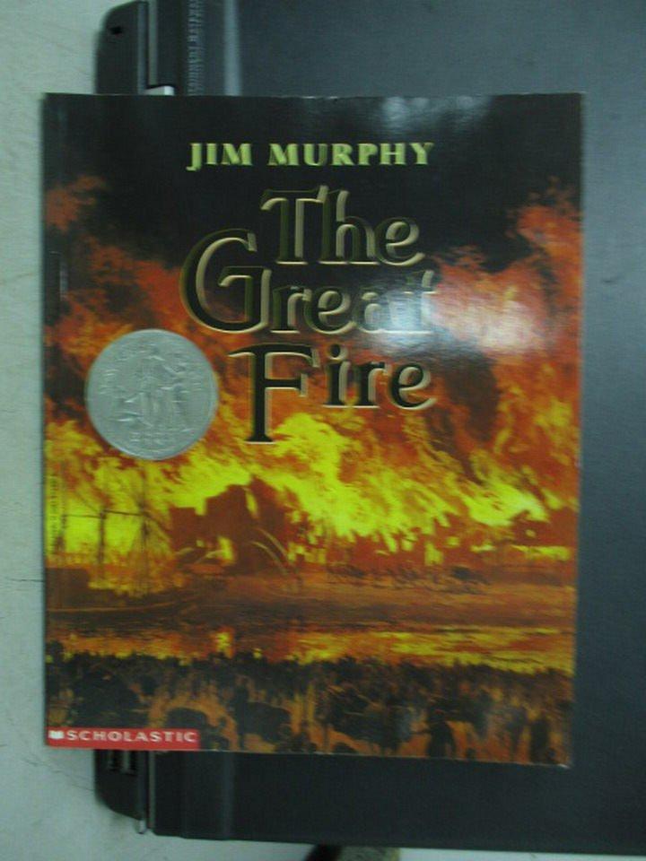 【書寶二手書T8/原文小說_PCB】The Great Fire