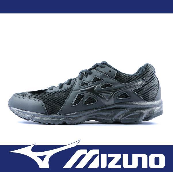 萬特戶外運動 MIZUNO K1GA170209 男女慢跑鞋 MAXIMIZER 18 寬楦 基本款 學生鞋 便宜 全黑色