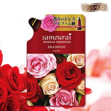 Samourai 浪漫玫瑰洗髮精補充包 370ML
