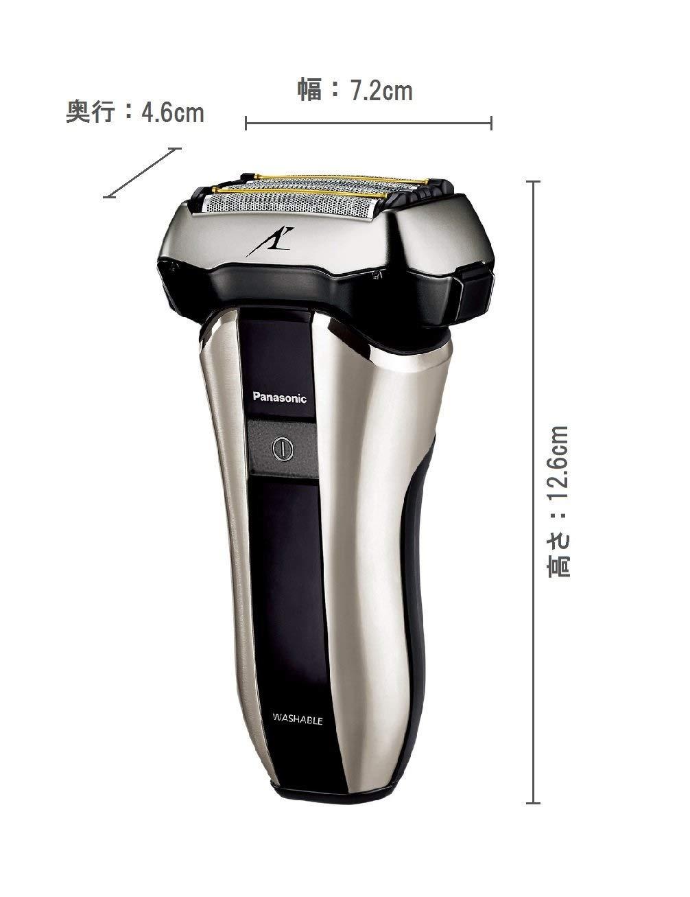 嘉頓國際 國際牌 PANASONIC 日本製【ES-CV70】三段電量顯示 五刀片  國際電壓 電鬍刀 水洗 3