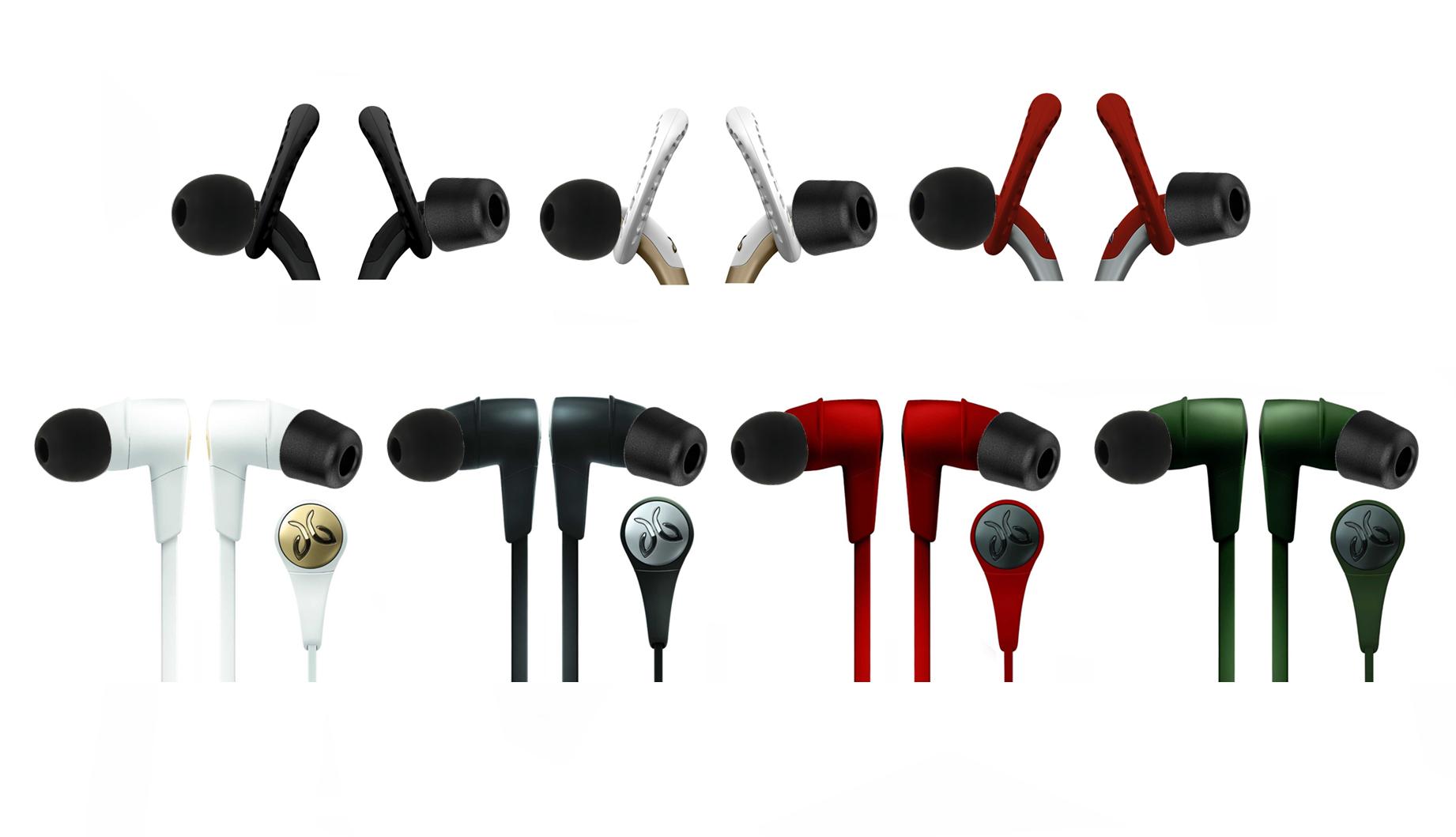 8Pcs Memory Foam Earbuds Ear tip Set In Ear Earphone Headset Replacement