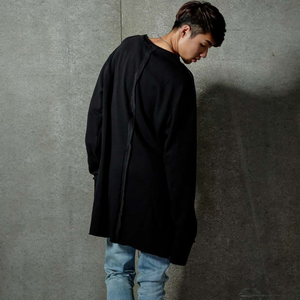 STAGE DECADENT SAGGY SWEATER 黑色 單色 1