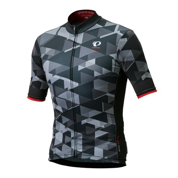 【7號公園自行車】PEARLIZUMI321-B-3男性競賽級短車衣(漸層灰)