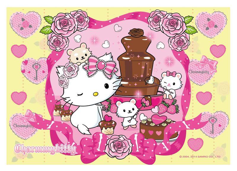 ~P2 拼圖~Charmmykitty巧克力甜點 108 片 HP0108~064