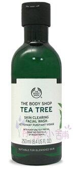 【彤彤小舖】The Body Shop 茶樹淨膚深層潔面膠 250ml