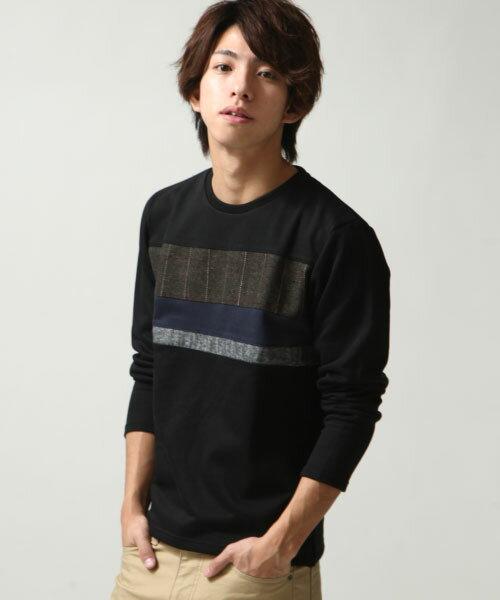長袖T恤 BLACK