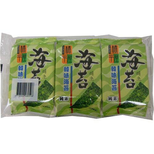橘平屋韓味海苔-原味4.2g*3包【愛買】