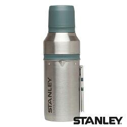 【美國 Stanley】真空保溫咖啡瓶組 1L『不鏽鋼原色』1001699 露營 戶外 保溫瓶 保冷 保冰 熱水壺 旅遊 野餐