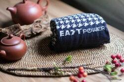 【東力】MIT 紅外線 血液循環 保暖升溫 時尚穿搭 健康機能 千鳥格能量健康圍巾 尺寸:15x160cm