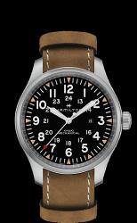 Hamilton 漢米爾頓 Khaki Field 大三針機械錶 H69819530 褐色 50mm