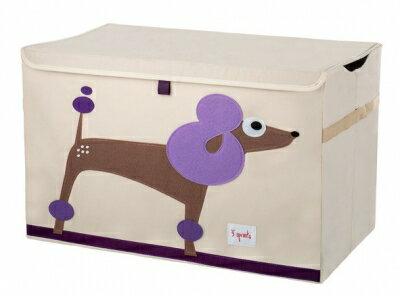 加拿大 3 Sprouts玩具收納箱-捲毛狗★愛兒麗婦幼用品★