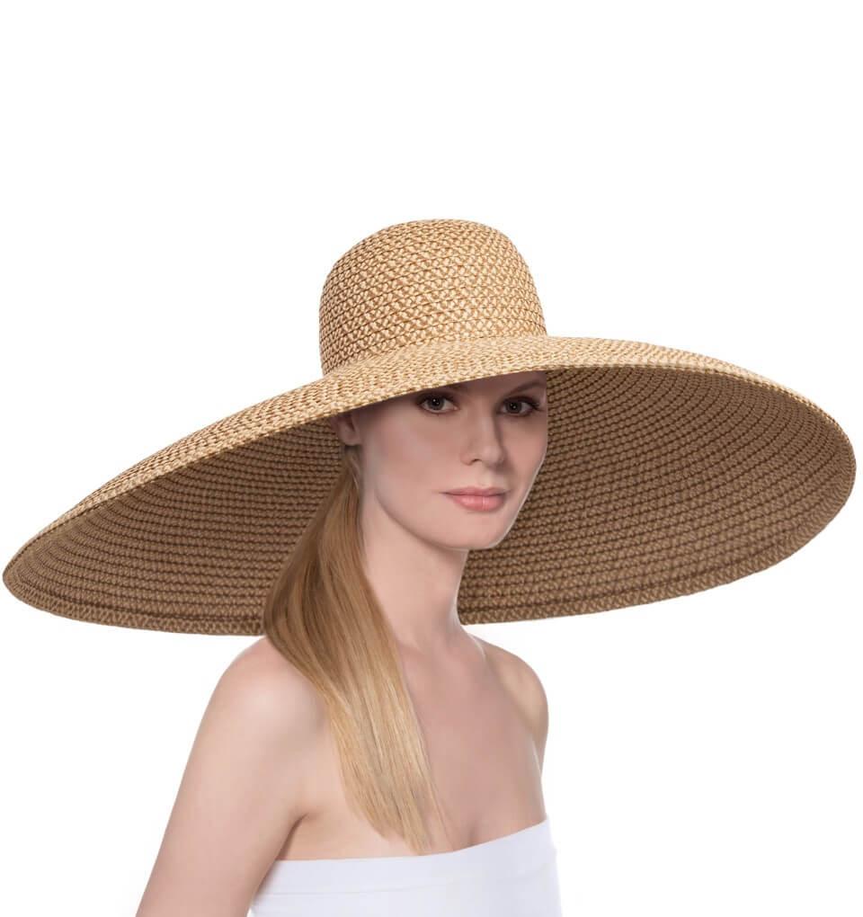 Eric Javits Luxury Fashion Designer Women s Headwear Hat - Giant Floppy 0 426362fd1b1b